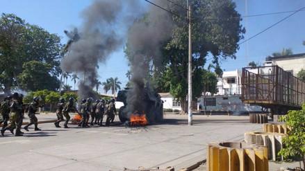 Ejército precisa que orden interno en Tumán depende de la Policía Nacional
