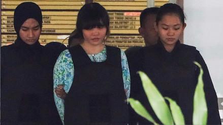 Acusadas de la muerte del hermano de Kim Jong-un tenían veneno en la ropa