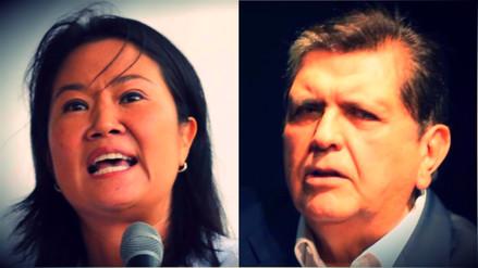 ¿Por qué Alan García y Keiko Fujimori son investigados por crimen organizado?