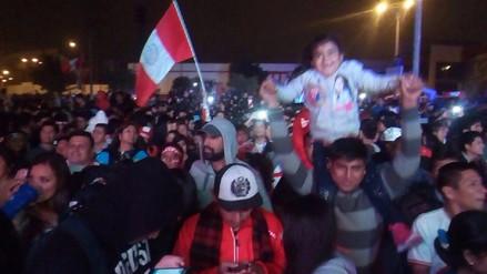 Trujillanos celebran empate de Perú y Argentina