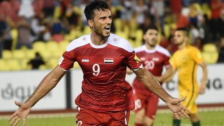 Siria logró un empate ante Australia y sueña con Rusia 2018