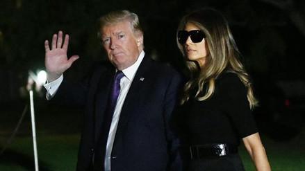 Donald Trump se marchó de Las Vegas sin hablar sobre el control de armas