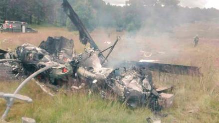 Siete militares muertos y uno herido al caer helicóptero en México