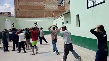 Realizan simulacro de sismo en el penal de Tarma