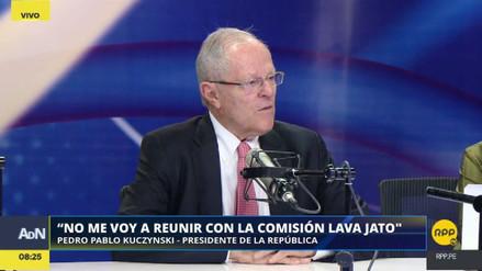 """PPK anunció que no recibirá a la Comisión Lava Jato: """"Es un circo"""""""