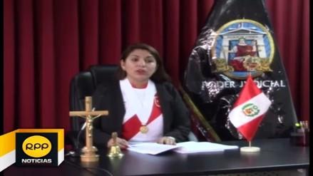 Jueza de Ayacucho asistió a audiencia con camiseta de Perú