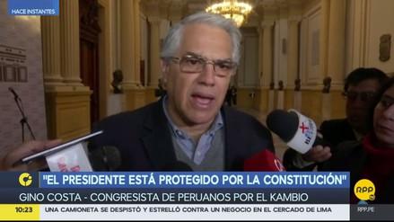 "Gino Costa: ""PPK no está obligado a recibir a la Comisión Lava Jato"""