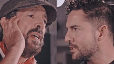 Juan Luis Guerra y David Bisbal versionan 'Si no te hubieras ido'