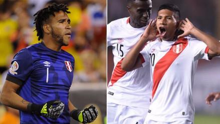 Pedro Gallese y Edison Flores figuran en el once ideal de la fecha 17