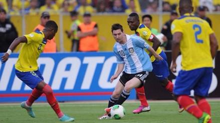 Ecuador no teme a Messi y quiere cerrar la Eliminatoria con