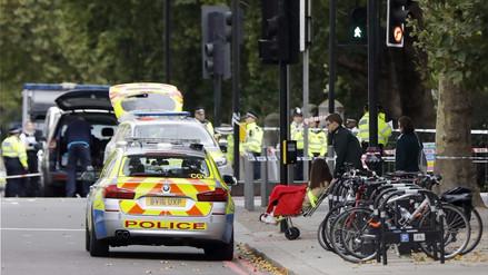 Al menos once heridos por atropello junto al Museo de Historia Natural de Londres