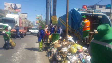 Sentenciados realizan jornada de limpieza en Arequipa