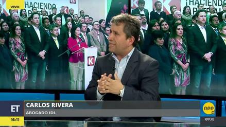 """Carlos Rivera: """"Keiko Fujimori le ha declarado la guerra a la Fiscalía"""""""