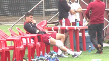 Iván Bulos acompañó a la Selección Peruana pese a su dura lesión