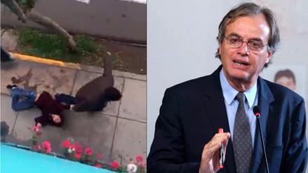 Basombrío sobre agresión en Miraflores: