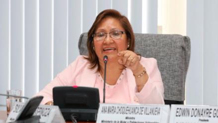 Ministra de la Mujer: