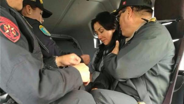 """Nadine Heredia: """"Keiko Fujimori y Alan García deben llevar su proceso en libertad"""""""
