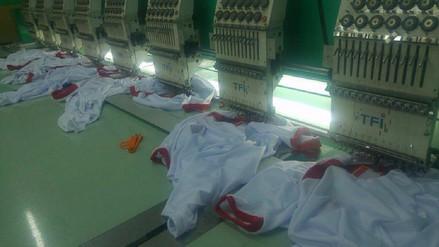 Producción de camisetas se incrementa en Arequipa