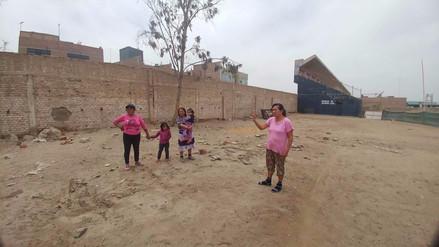 Familias afectadas por retiro de baños químicos en albergue de Leonardo Ortiz