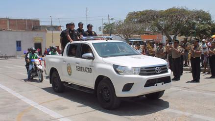 Ministerio del Interior financiará proyecto de seguridad ciudadana en Reque