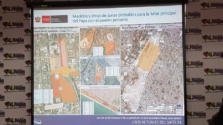 Junín: prevendrán desastres naturales con satélite peruano