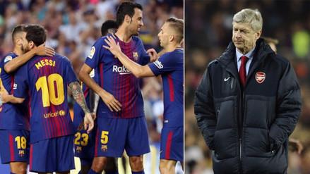 """Arsene Wenger: """"El Barcelona no debería ser invitado a la Premier League"""""""