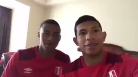 El video viral de Edison Flores y Andy Polo previo al Perú vs. Colombia