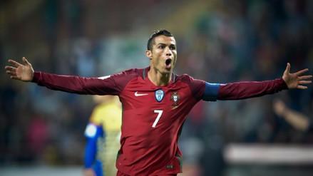 Cristiano Ronaldo y Portugal clasificaron al Mundial de Rusia 2018