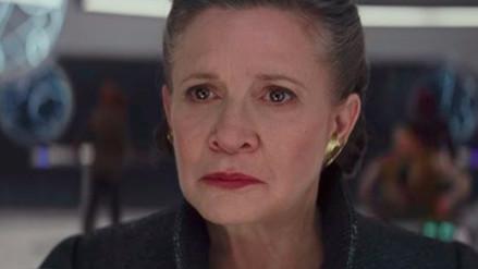 Star Wars: 'Hijo' de Carrie Fisher se emociona al verla en nuevo avance