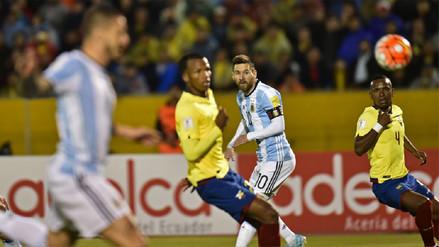 Lionel Messi anotó un triplete y puso a Argentina en Rusia 2018