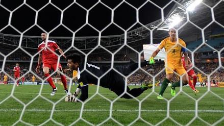 Se acabó el sueño: Siria cayó 1-2 ante Australia y se quedó sin Mundial