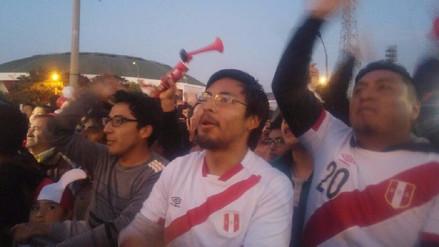 Trujillanos celebran pase de Perú a repechaje