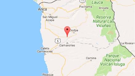 Un sismo de 6,3 grados sacude Tacna esta madrugada
