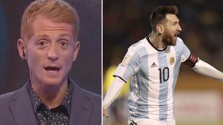 Esto dijo Martín Liberman sobre la descomunal actuación de Lionel Messi