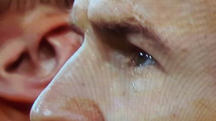 Arjen Robben lloró mientras cantaba el Himno de Holanda