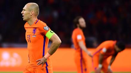 Pese a su victoria, Holanda quedó fuera del Mundial Rusia 2018