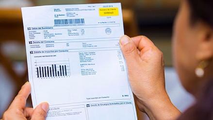 Recibos de luz: Consumidores domésticos pagarían más que industriales
