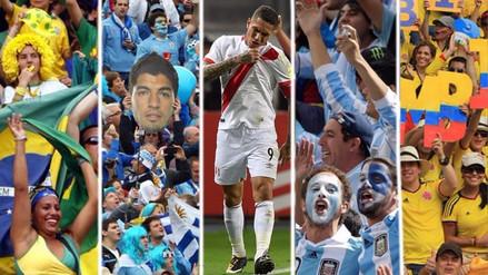 Todos nos quieren en el mundial: hinchas de diversos países apoyan a Perú