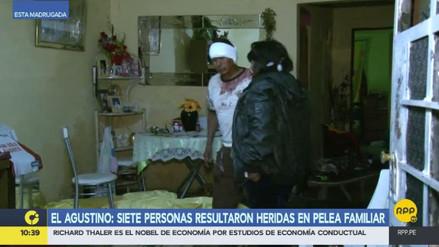 Siete heridos en una pelea durante la celebración del empate de Perú