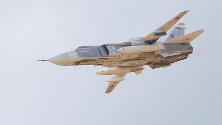 Los bombardeos rusos mataron a unos 130 yihadistas en Siria