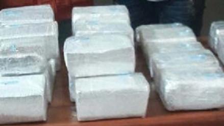 Pisco: incautan más de 30 kilos de cocaína en operativo antidrogas