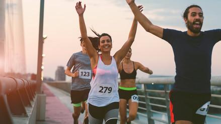 Respirar de manera sincronizada lo puede ayudar a ganar una maratón