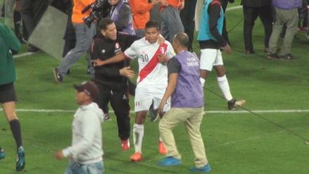 La bronca de Edison Flores tras el empate 1-1 entre Perú y Colombia