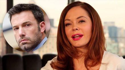Twitter suspende cuenta de Rose McGowan por denuncia contra Ben Affleck