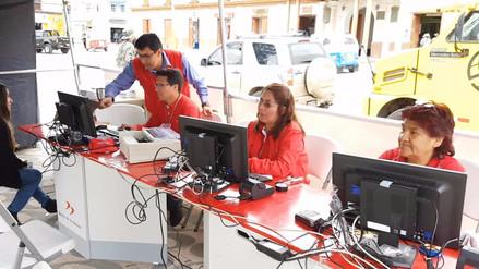Presenta sistema para atención en caso de desastres en Jauja