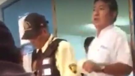 Médico y paciente se retan a pelea en pleno establecimiento de EsSalud