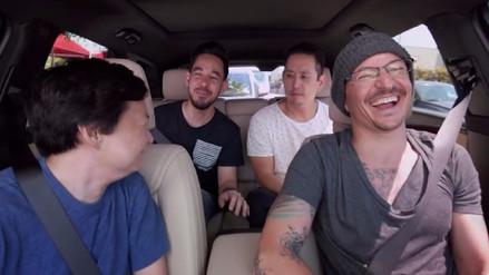 Linkin Park estrena el 'Carpool Karaoke' con Chester Bennington
