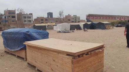 Piden a Ministerio de Vivienda iniciar instalación de módulos en Lambayeque