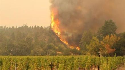 Los incendios forestales en California avanzan incontrolables
