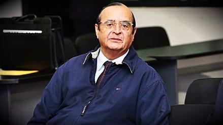 El Poder Judicial sentenció a Vladimiro Montesinos a 15 años de prisión por secuestro de empresario